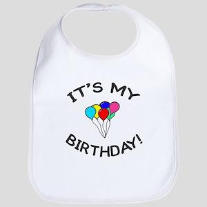 'It's My Birthday!' Bib