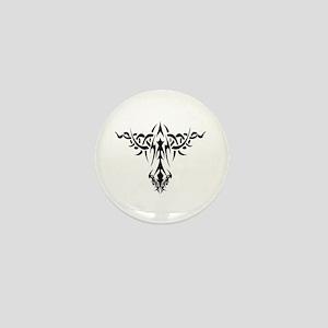 Tribal Art Design Mini Button