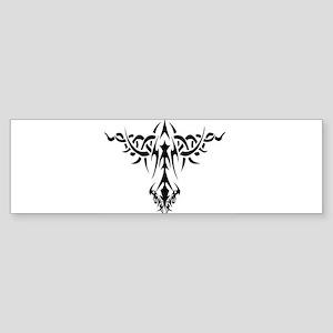 Tribal Art Design Bumper Sticker