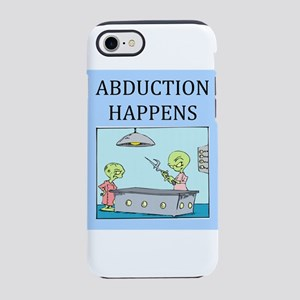 funny alien abductionj oke gifts t-shirts iPhone 8