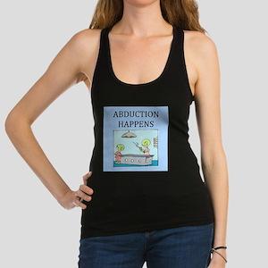 funny alien abductionj oke gifts t-shirts Tank Top