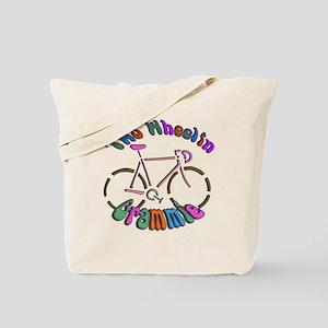 Biker Grammie Tote Bag