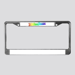 Wilkes Barre PA License Plate Frame