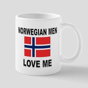 Norwegian Men Love Me Mug