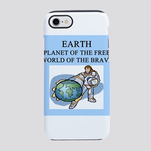 funny geek earth hero gifts t-shirts iPhone 8/7 To