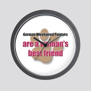 German Wirehaired Pointers woman's best friend Wal