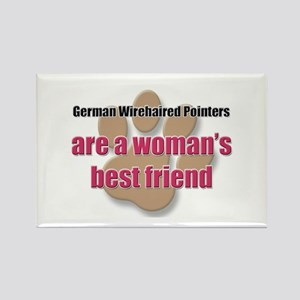 German Wirehaired Pointers woman's best friend Rec