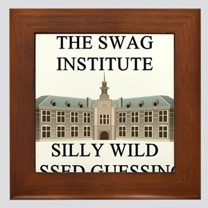 funny geek science joke gifts t-shirts Framed Tile