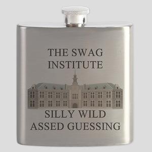 funny geek science joke gifts t-shirts Flask