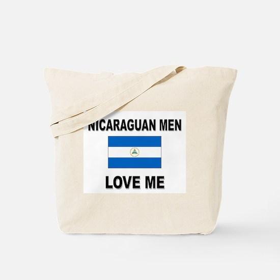 Nicaraguan Men Love Me Tote Bag