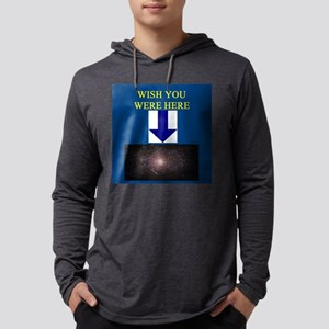 funny geek astronomy insult gifts t-shirts Long Sl