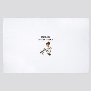 Queen of the geeks gifts t-shirts 4' x 6' Rug