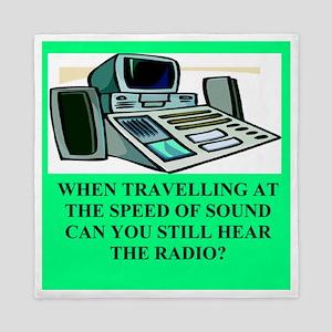 funny speed of sound joke Queen Duvet
