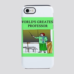 funny woman professor gifts t-shirts iPhone 8/7 To