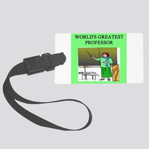 funny woman professor gifts t-shirts Luggage Tag