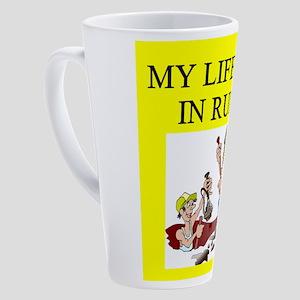 archaeology 17 oz Latte Mug