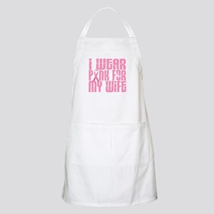 I Wear Pink For My Wife 16 BBQ Apron