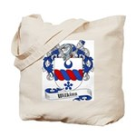 Wilkins Family Crest Tote Bag