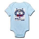 Wilkins Family Crest Infant Creeper