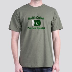 Coolest Pakistani Grandpa Dark T-Shirt