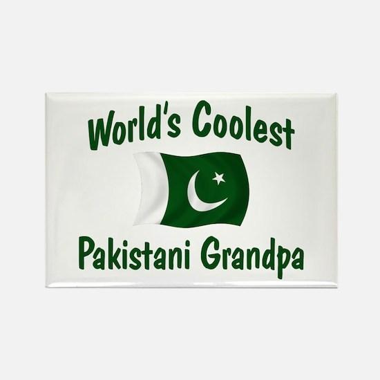 Coolest Pakistani Grandpa Rectangle Magnet