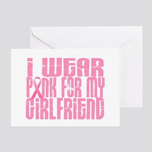 I Wear Pink For My Girlfriend 16 Greeting Card