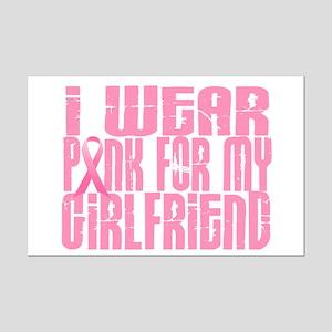 I Wear Pink For My Girlfriend 16 Mini Poster Print