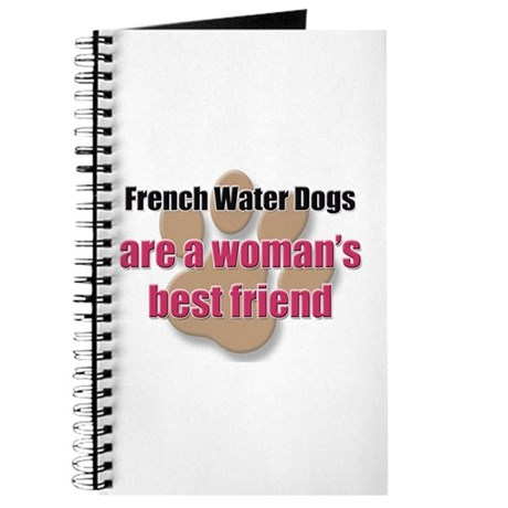 French Water Dogs woman's best friend Journal