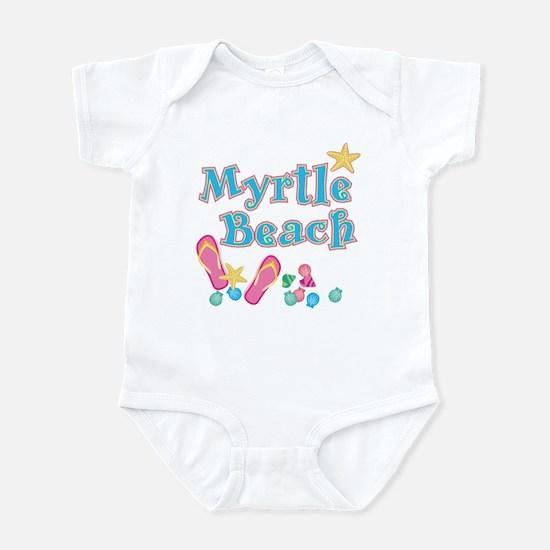 Myrtle Beach Flip-Flops - Infant Bodysuit