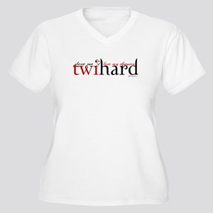 Twihard Women's Plus Size V-Neck T-Shirt
