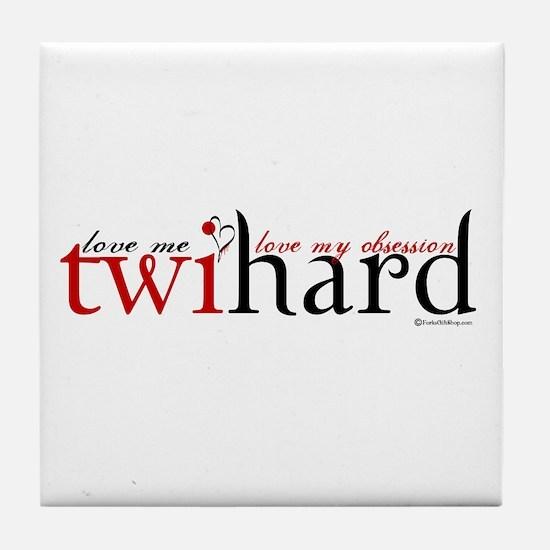 Twihard Tile Coaster