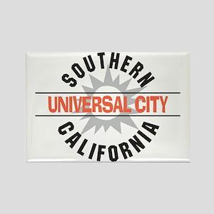 Universal City California Rectangle Magnet