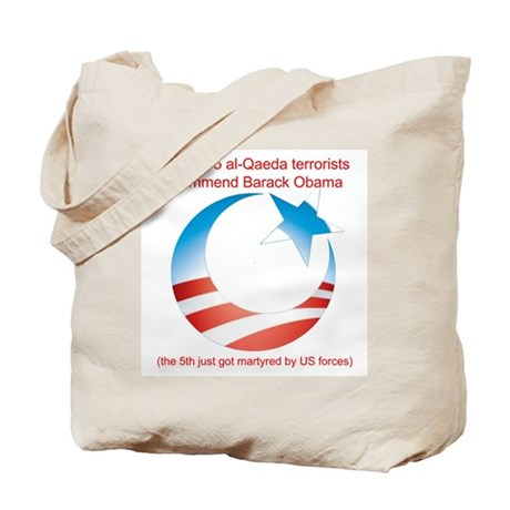 4 out of 5 Terrorists Tote Bag