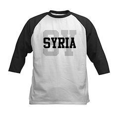 SY Syria Kids Baseball Jersey