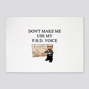 phd joke 5'x7'Area Rug