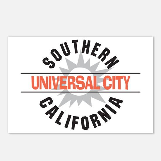 Universal City California Postcards (Package of 8)