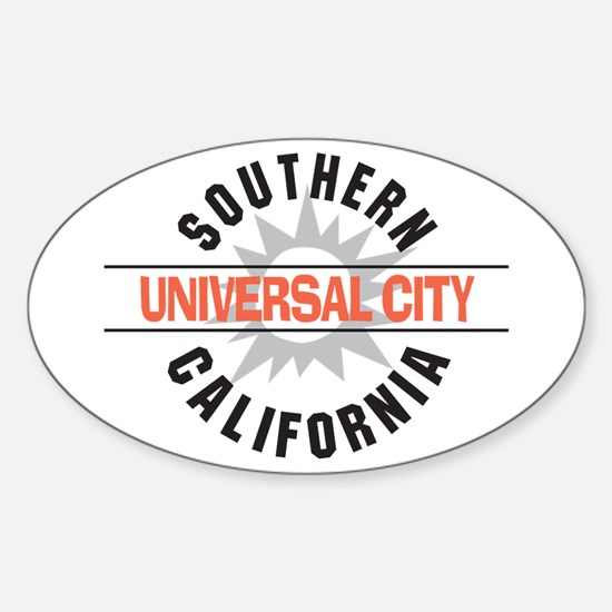 Universal City California Oval Decal