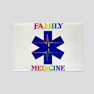 Family Medicine Rectangle Magnet