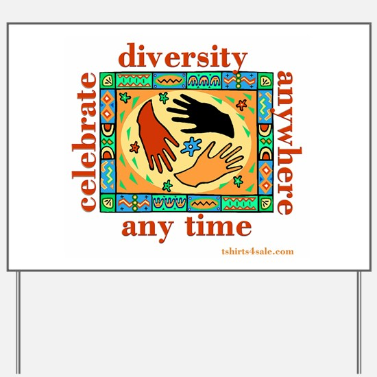 DIVERSITY PEOPLE Yard Sign