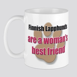 Finnish Lapphunds woman's best friend Mug