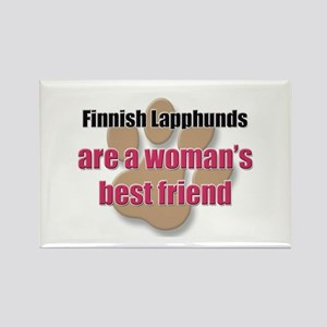 Finnish Lapphunds woman's best friend Rectangle Ma