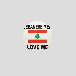 Lebanese Men Love Me Mini Button