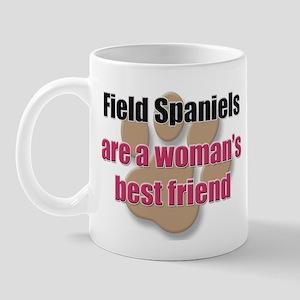 Field Spaniels woman's best friend Mug