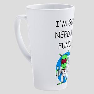 i love biology 17 oz Latte Mug