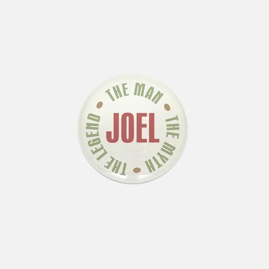 Joel Man Myth Legend Mini Button