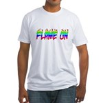 Flame On Fitted T-Shirt