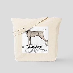 Weimaraner Rescue Tote Bag