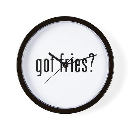 got fries? Wall Clock