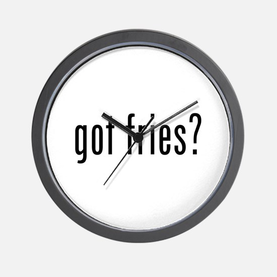 got fries? Wall Clock