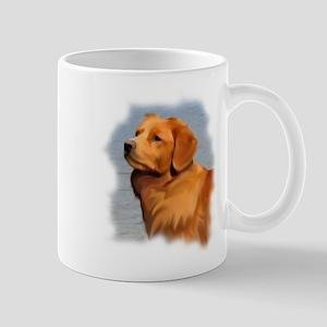 Duck Toller Portrait Mug